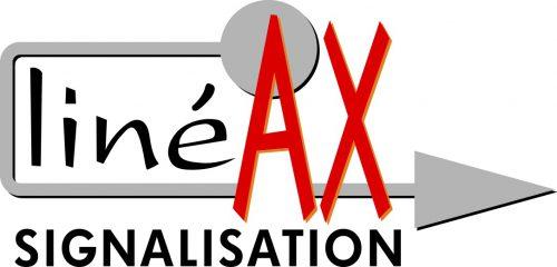 Logo lineax, signalisation et marquage